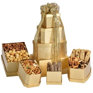 Customized gourmet gift baskets in Toronto