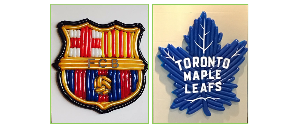 FCB Sign and Maple Leaf